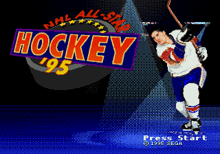 NHL All-Star Hockey '95 1