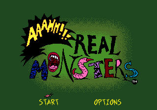 Nickelodeon: Aaahh!!! Real Monsters 0