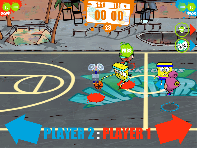 Nicktoons Basketball 2