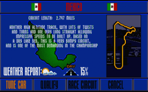 Nigel Mansell's World Championship Racing abandonware