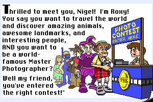 Nigel's World abandonware