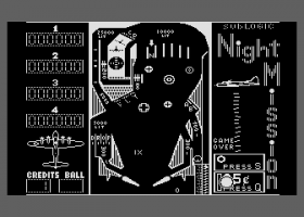 Night Mission Pinball abandonware