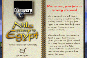 Nile: Passage to Egypt 1