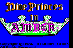 Nine Princes in Amber 0