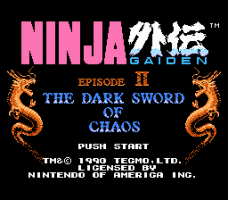 Ninja Gaiden II: The Dark Sword of Chaos 0