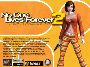 No One Lives Forever 2: A Spy in H.A.R.M.'s Way 0