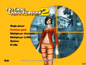 No One Lives Forever 2: A Spy in H.A.R.M.'s Way 1