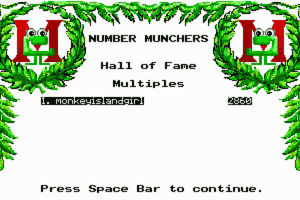Number Munchers 13