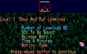 Oh No! More Lemmings 2