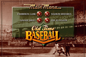 Old Time Baseball abandonware