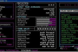 One-Nil Soccer Manager abandonware