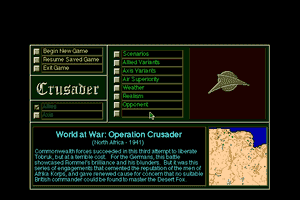 Operation Crusader abandonware