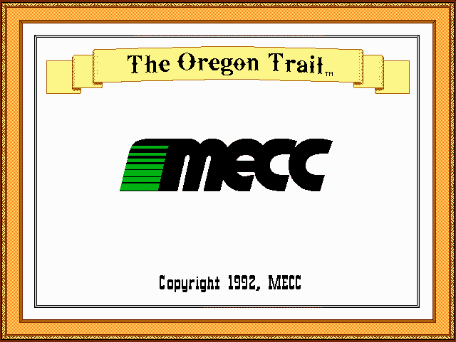 Oregon Trail Deluxe 0