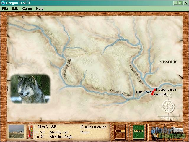 oregon trail game download windows 7