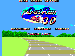 Out Run 3-D 0