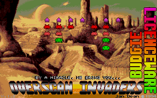 Overscan Invaders 2