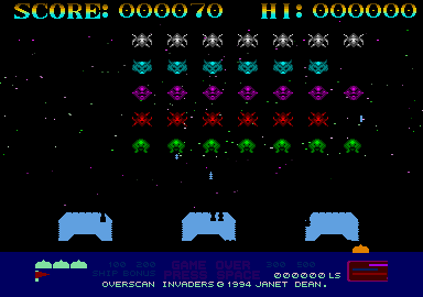 Overscan Invaders 4