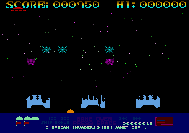 Overscan Invaders 7