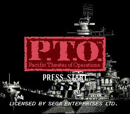 P.T.O.: Pacific Theater of Operations 1
