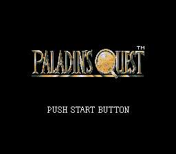 Paladin's Quest 0
