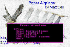 Paper Airplane 12