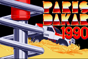 Paris Dakar 1990 0