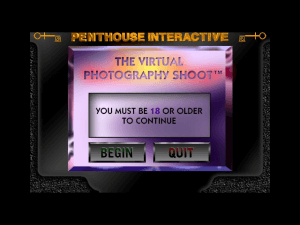 Penthouse Interactive Virtual Photo Shoot Vol. 1 0