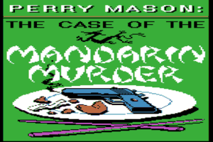 Perry Mason: The Case of the Mandarin Murder 0
