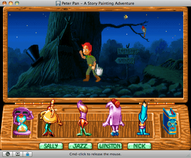 Download Peter Pan: A Story Painting Adventure - My Abandonware