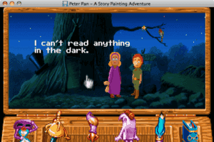 Peter Pan: A Story Painting Adventure abandonware