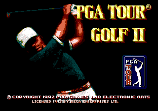 PGA Tour Golf II 0