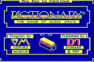 Pictionary: The Game of Quick Draw 4