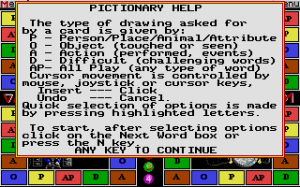 pictionary the game of quick draw how to play