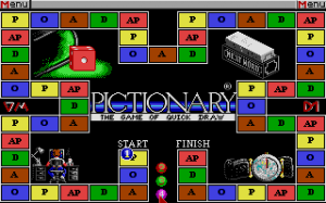 Pictionary: The Game of Quick Draw abandonware