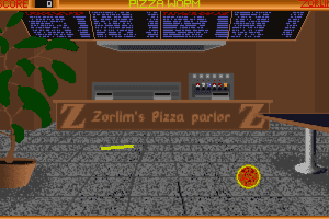 Pizza Worm abandonware