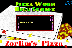 Pizza Worm 5