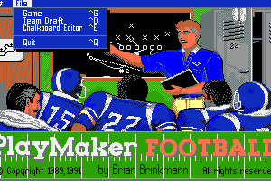 Playmaker Football 4