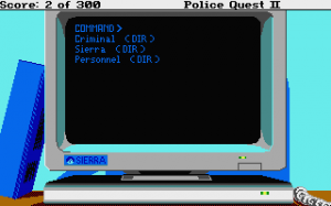 Police Quest 2: The Vengeance 9