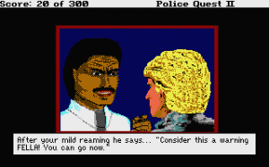 Police Quest 2: The Vengeance abandonware
