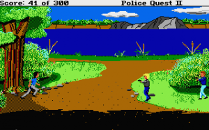 Police Quest 2: The Vengeance 26