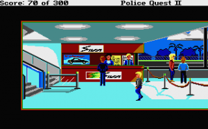 Police Quest 2: The Vengeance 34