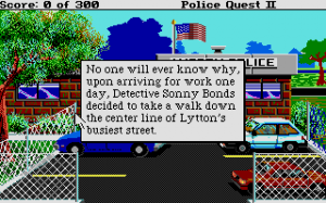 Police Quest 2: The Vengeance 7