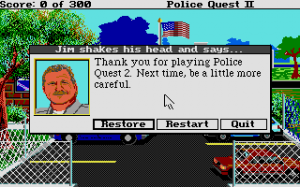 Police Quest 2: The Vengeance 8