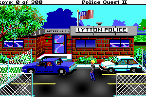 Police Quest 2: The Vengeance 4