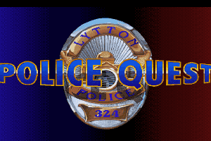 Police Quest: In Pursuit of the Death Angel 1