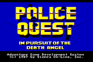 Police Quest: In Pursuit of the Death Angel 0