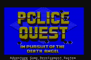 Police Quest: In Pursuit of the Death Angel 11