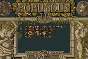 Populous II: Trials of the Olympian Gods 1
