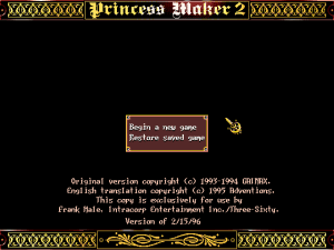 Princess Maker 2 1