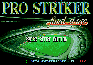 Pro Striker: Final Stage 1